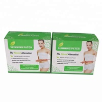 herbal fat weight loss pad NEW diet slimming detox patch