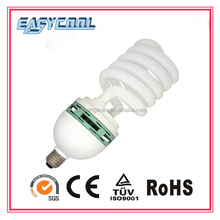 Half spiral 20W energy saving bulb with CE and RoHS Made in China 100% tri-color 8000h 6000h T2