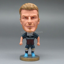 soccer player action figure/OEM manufacturer Plastic player figures/Custom football player action figure