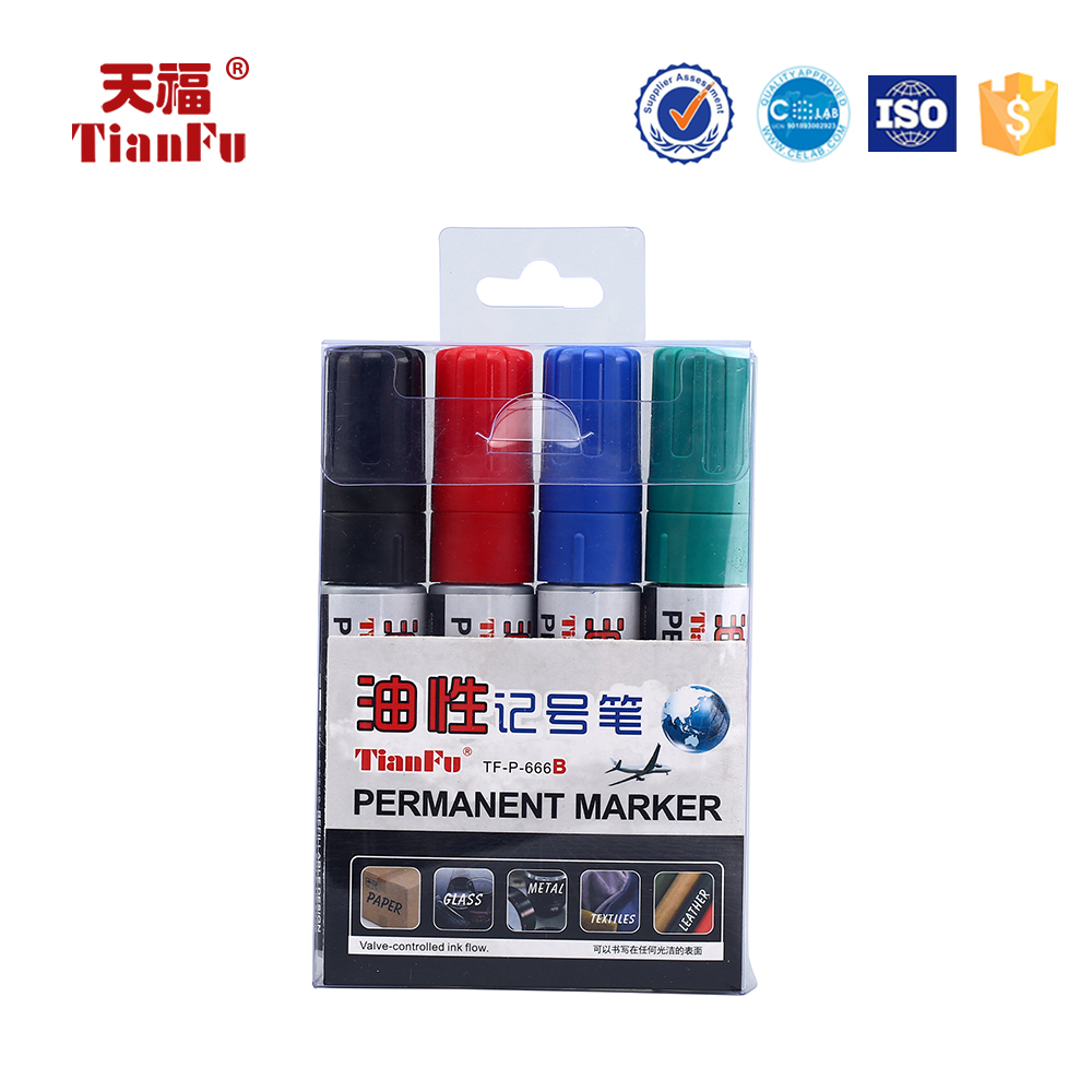 P-666 DIY art customized non-toxic durable permanent marker