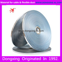 single side non bonded colored aluminum foils covers PET polyester film tape PAD for cable and wire wrapping