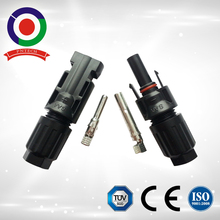 CE certificate Male and female PPO material 2 pin mc4 waterproof connector