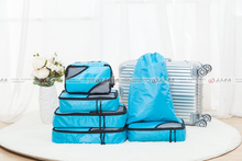 Compression Packing Cubes 4pcs Travel clothing Organizer