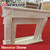 Newstar hot sale good price stone round fireplace