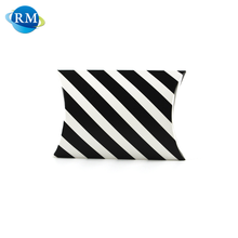 Rongmei Wholesale Products Custom Striped Packaging Paper Pillow Box