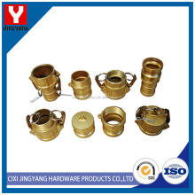 Quick coupling flexible fire connectors air hose coupling