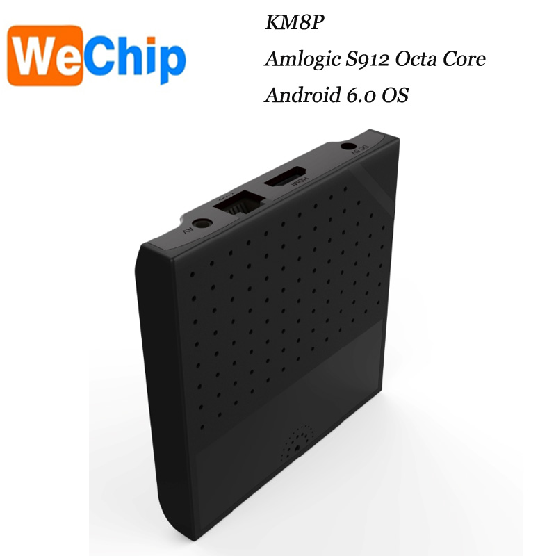 Made in China !KM8p Amlogic S912 Android 6.0 marshmallow 1GB DDR3 DC 5V/2A KODI 17.0 version tt tv box hot sale now