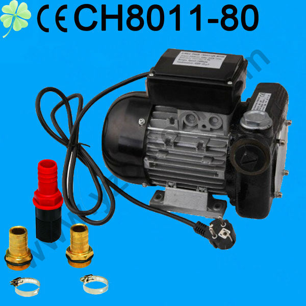 2014 new motor driven big flow diesel oil pump for diesel oil transfer