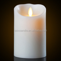 Luminous Shaking Wick LED Candle | Flameless Moving wick LED Candle With Timer Function
