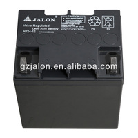 Storage Battery/rechargable battery 12v24ah from storage battery factory