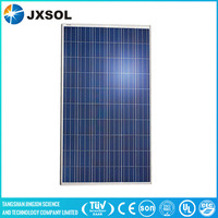1640*992*40mm size and polycrystalline silicon ,poly silicon material 250w pv solar panel