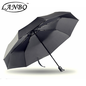 46inch 9ribs repel windproof travel umbrella with waterproof coating