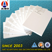PVC co-extrusion pvc foam sheet board 20mm thickness for door making