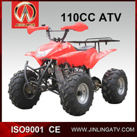 110cc Kids Gas Four Wheelers Cheap 4x4 ATV Type 2015 New Model
