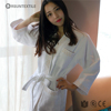 Waffle Bathrobe White Classic Super Soft