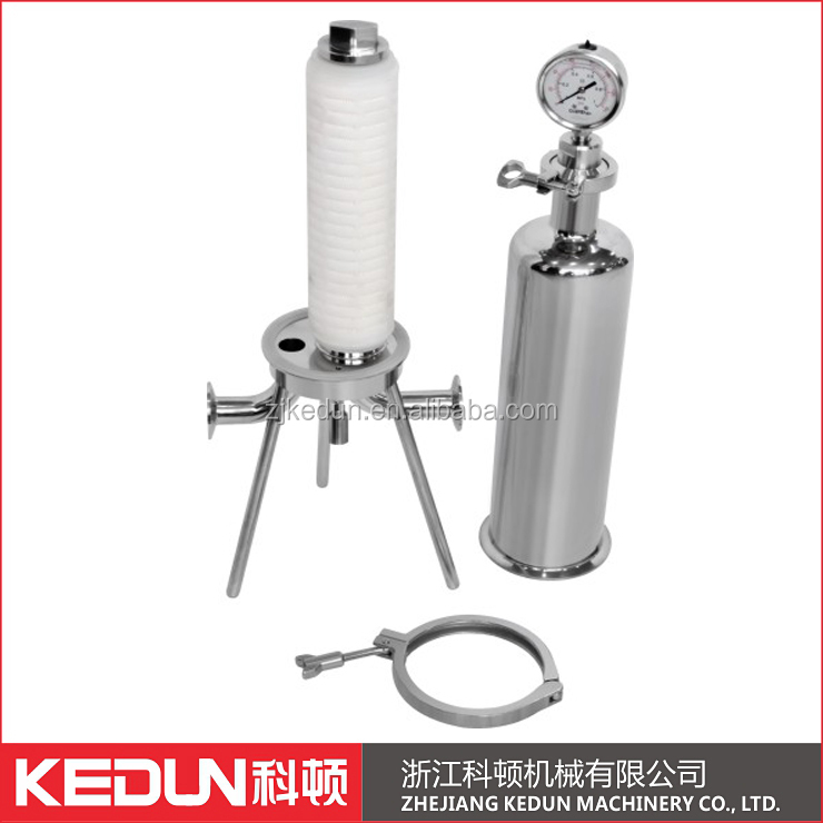 Manufacturer Stainless steel 10inch single filter cartridge housing