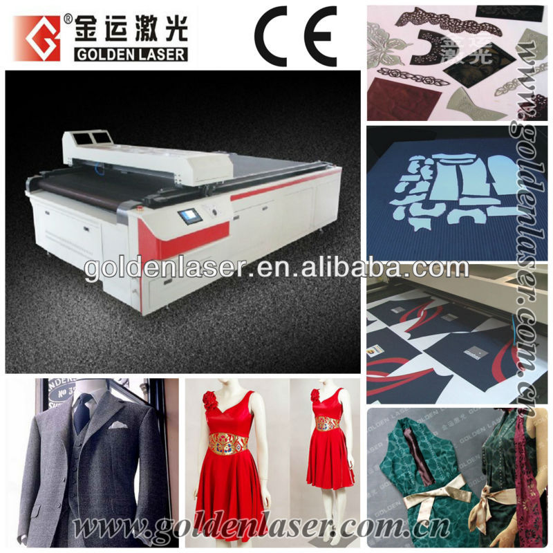Laser Cutting for Garment Fabric Pattern Making Machine