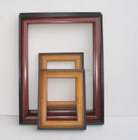 Fashion promotional hand carved wooden mirror frames