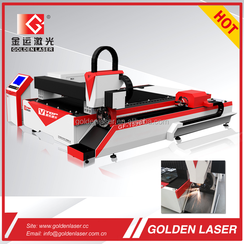 Dual CNC Fiber Laser Sheet Metal and Tube / Pipe Cutting Machine GF-1530T