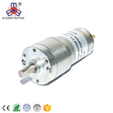 ETONM 32mm low rpm high torque 50rpm 120rpm 24v 12v dc gear motor