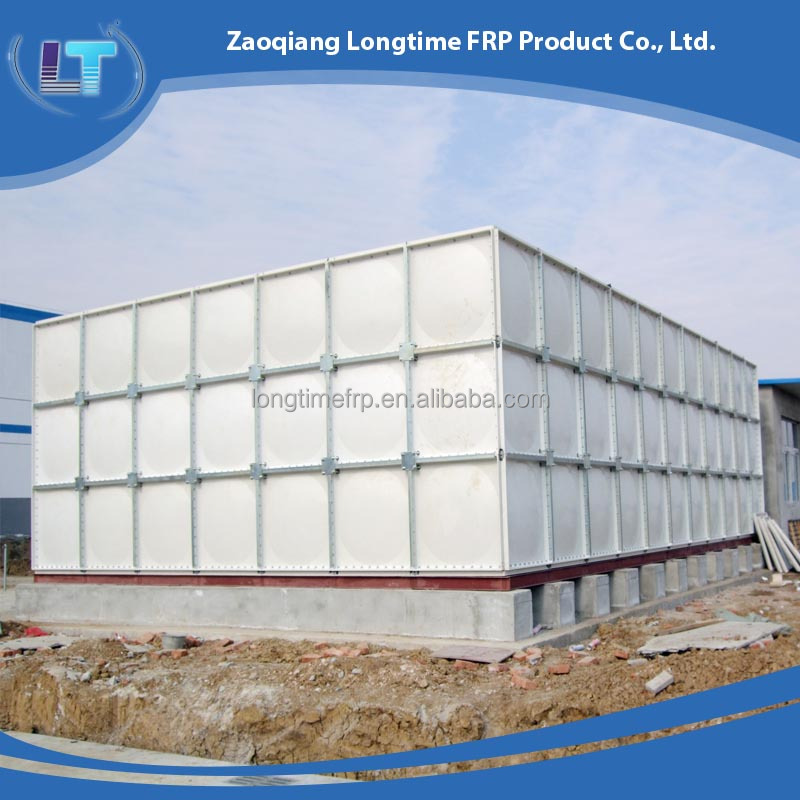 Raw Water Storage Tank, Large FRP water tank, SMC combined water tank