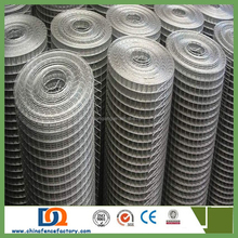 New 1/4'' 0.7mm electro galvanized welded wire mesh for Chickens, Rabbits and Other Small Animal Pens