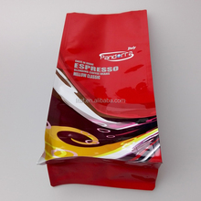 2016 New design plastic custom coffee bag packaging with high quality