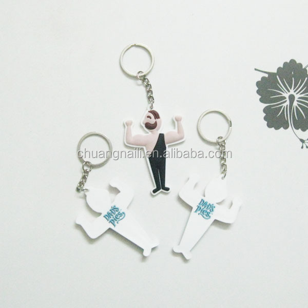 Factory direct wholesale soft pvc rubber key tag