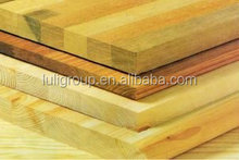 Hot sale! Luli Group Cheap Engineered Rubber Wood/ Timber Board with CE/CARB/ FSC/ SGS/ ISO Certified