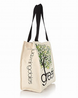 12oz canvas shopping bag with colorful printed