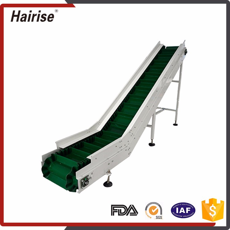 China Manufacturer Durable Pvc Inclined Conveyor Belt