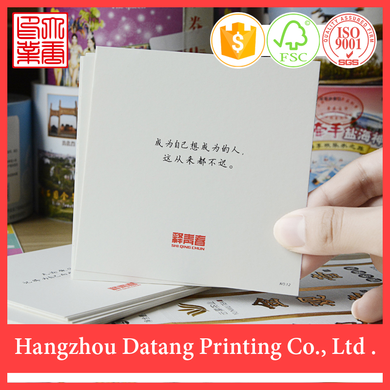 Wholesale high quality custom paper hanging fragrance car perfume card