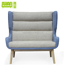 2099 new design leisure salon chair in wood base