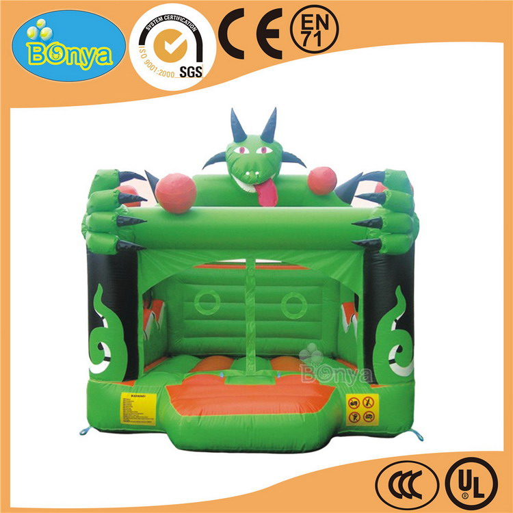 New design top quality fire truck inflatable bouncers