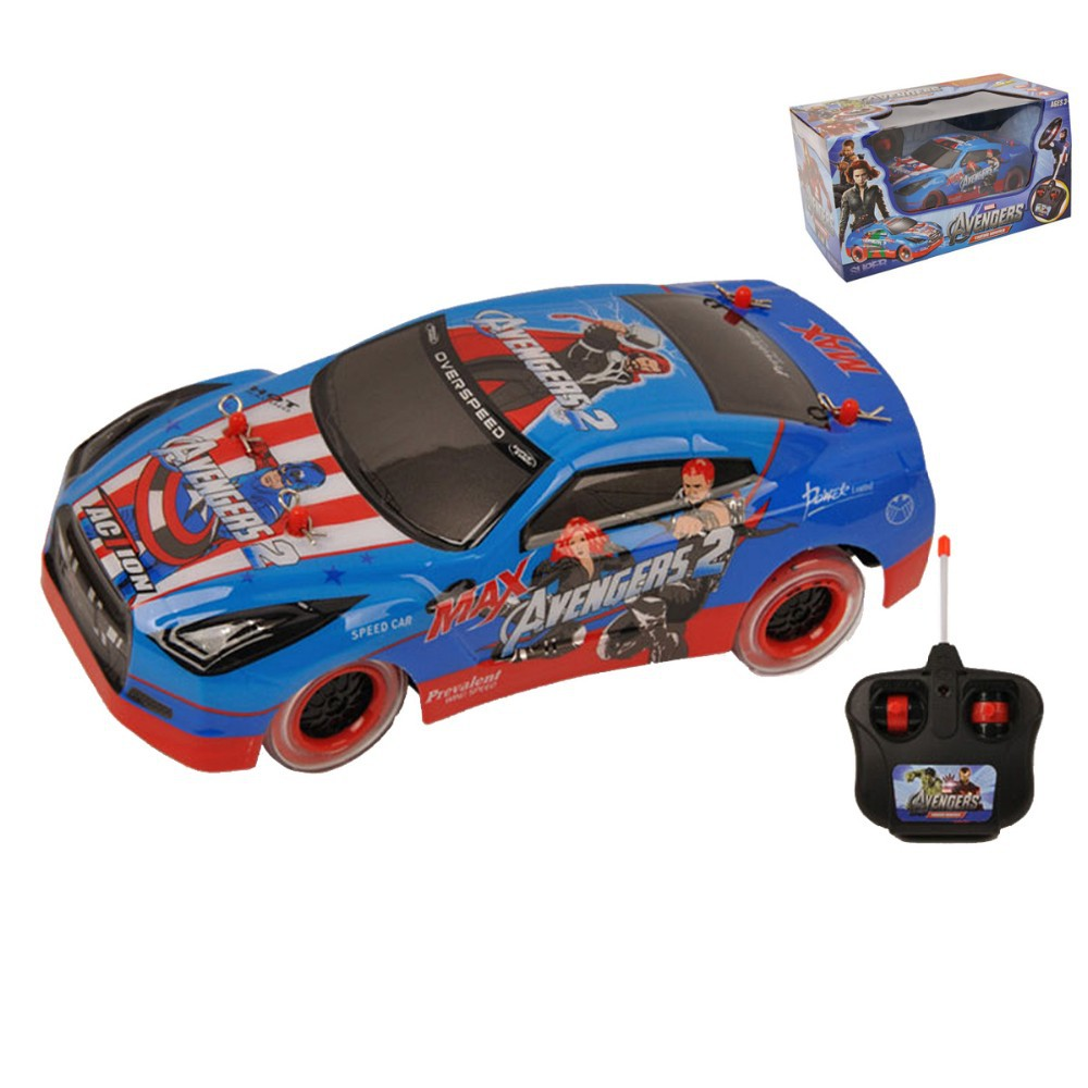 4CH Remote Control RC Marvel TheAvengers Captain America Racing Car New in Box