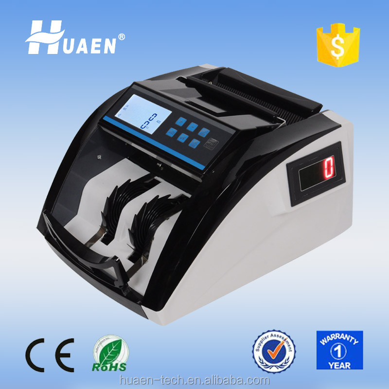 high quality currency detector machine with counterfeit detection note counting machine