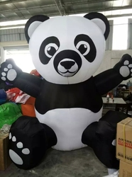 promoion giant inflatable panda bear for advertising