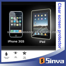 Sample free! for samsung galaxy s4 clear screen protector lcd protection film for iphone 5s and ipad mini