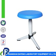 Geology laboratory lab stool chair with ABS injection molding stool surface