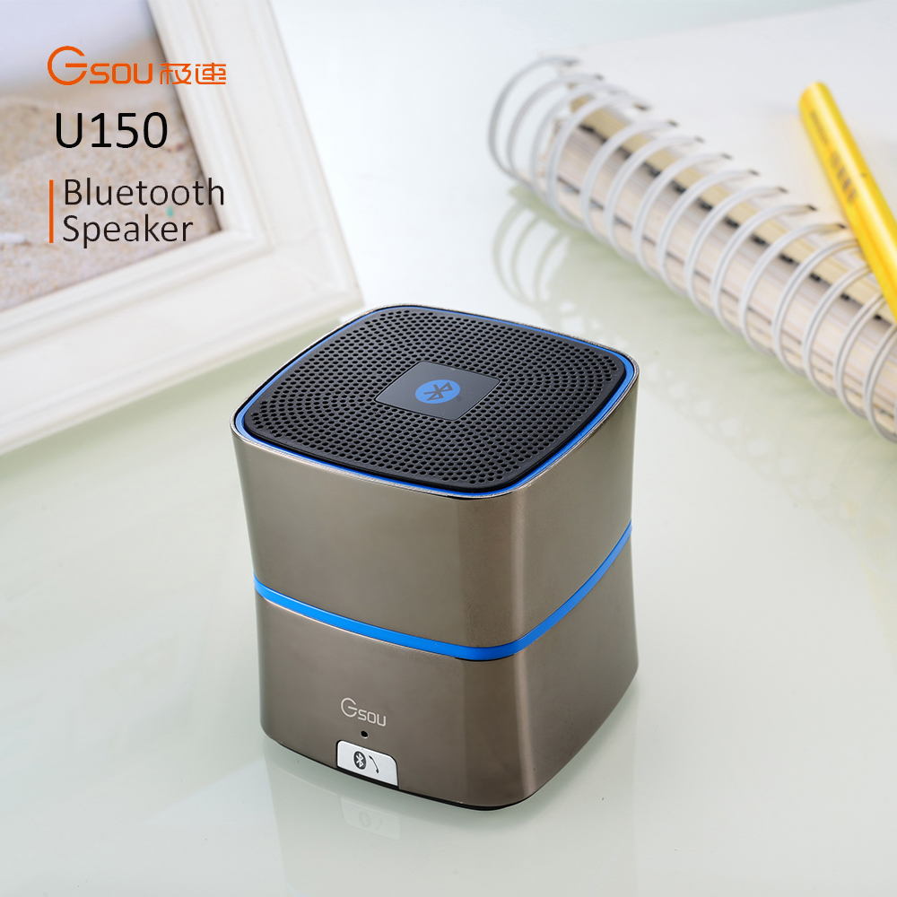 Christmas gift wholesale 5W Enhanced BASS+ mini Bluetooth 4.0 Speaker Built in mobile phone Car speaker gift box on Christmas
