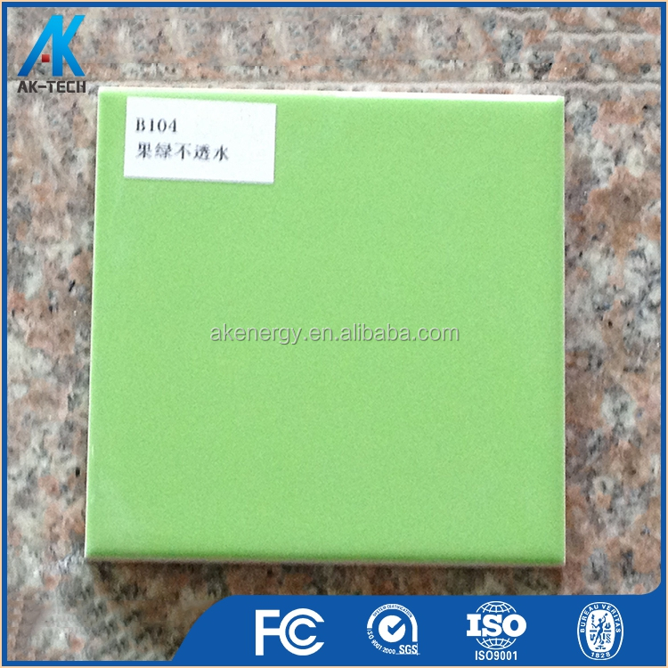 100x100 Square Home Matte Sea Green Tile Wall