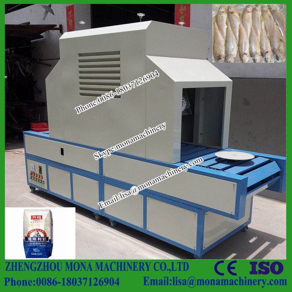 UHT new design glass bottle sterilization machine