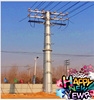 10M Advanced Low Voltage Electric Power Transmission Pole