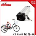 Rechargeble 48v 11.6ah 750W Lithium Battery For Electric Bike With Brand Battery Cells