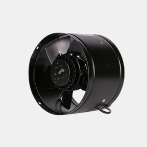 Low noise industrial axial flow portable ventilation pipeline fan