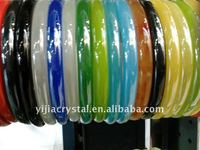fashion mix glass bangle