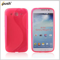 new arrival tpu case for Samsung galaxy mega 5.8 i9050