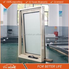 AS2047 Australia standard double glazed aluminium chain winder awning window design with chain winder in beautiful color