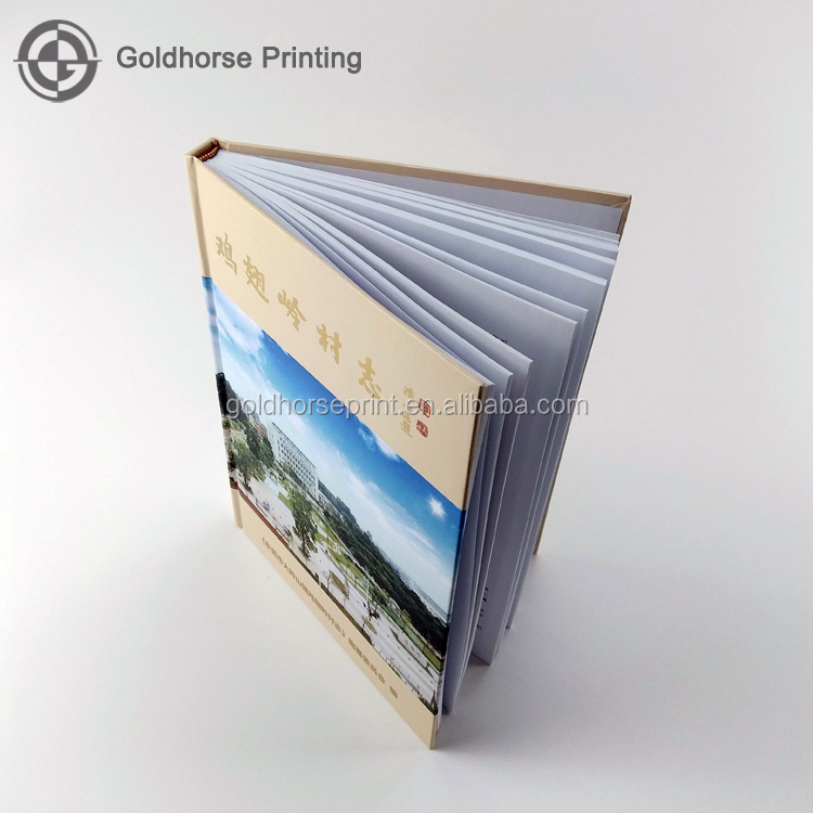 Fashion Hardcover Book Printing Case Bound Book/History Novel Hardcover Book