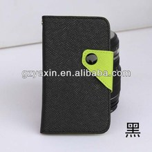 Fashion Leather Flip Protective Case For Lenovo A706,protective case for lenovo a706